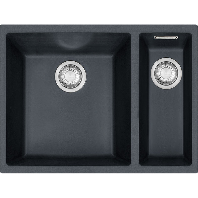 Franke SID 160 - 125.0331.037 Onyx Undermount Kitchen Sink in TECTONITE