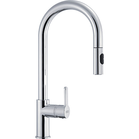 Franke Arena - 115.0158.969 Pull-Out Chrome Kitchen tap with Spray fuction