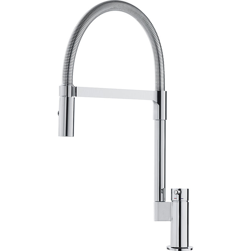 Franke Manhattan Pull-down Chrome Spout Kitchen Tap Single Lever