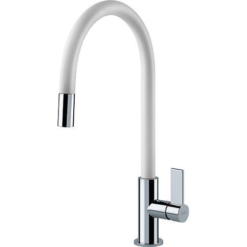 Franke AMBIENT EVO - 115.0373.949 White Pull-Out Kitchen Tap