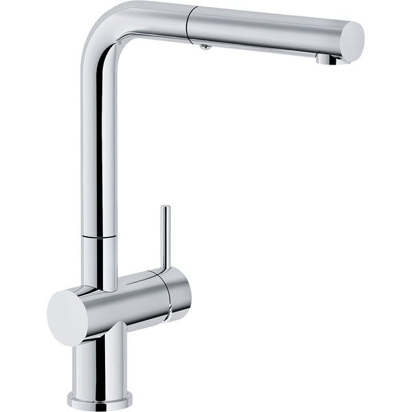 FRANKE ACTIVE PLUS - 115.0373.966 Chrome Pull-Out Kitchen Tap with Spray function