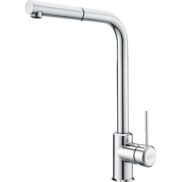FRANKE SIRIUS SIDE Chrome Pull-Out Kitchen Tap Single Lever