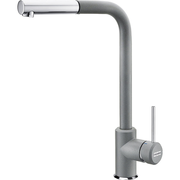 FRANKE SIRIUS SIDE -  115.0476.824 Stone grey Pull-Out Kitchen Tap Single Lever