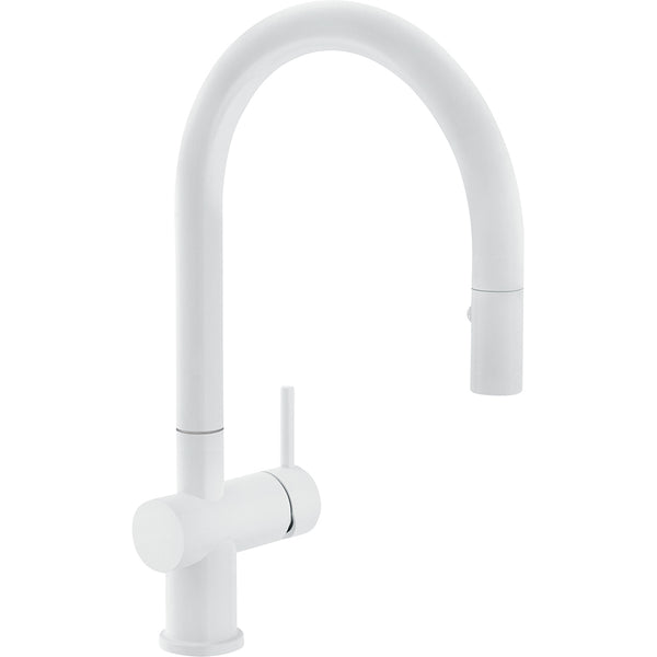 FRANKE ACTIVE NEO SM White matte- Pull-Out Spray Kitchen Tap