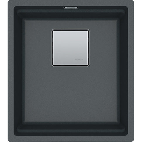 Franke Kanon KNG 110-37 - 125.0528.627 Graphite Undermount Kitchen Sink in FRAGRANITE