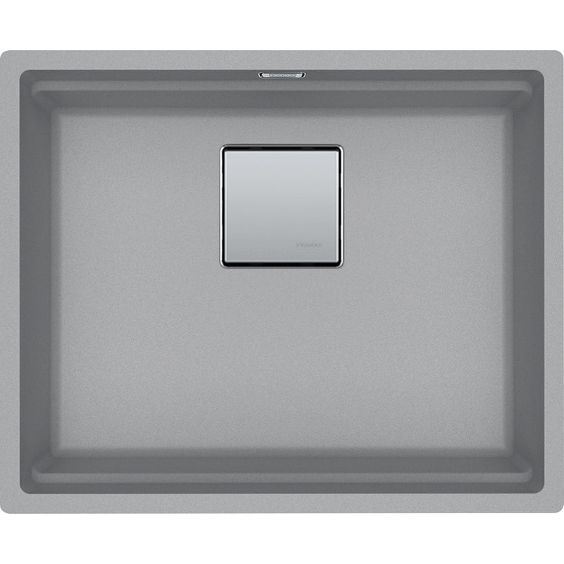 Franke Kanon KNG 110-52 - 125.0528.615 Stone grey Undermount Kitchen Sink in FRAGRANITE