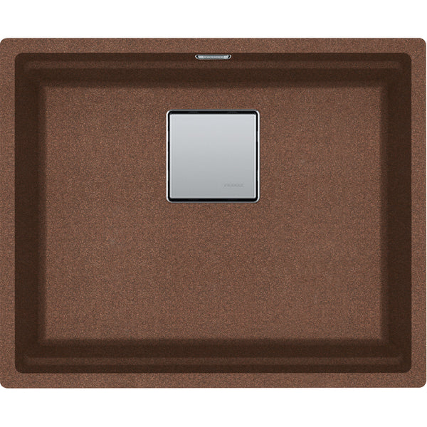 Franke Kanon KNG 110-52 - 125.0558.471 Copper gold Undermount Kitchen Sink in FRAGRANITE