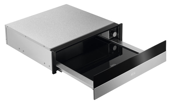 AEG KDK911424M- Antifingerprint Stainless steel/Black Push to open Warming Drawer
