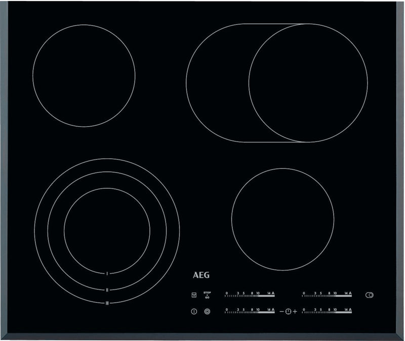 AEG HK654070FB- 60cm Electric Ceramic Kitchen Hob