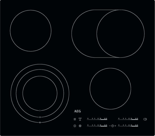AEG HK654070IB- Bulit-in Electric Ceramic Kitchen Hob