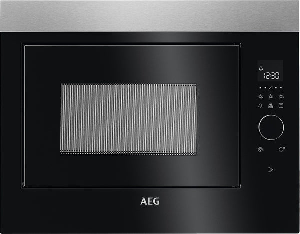 AEG MBE2658DEM - Built In Microwave with Grill - 900W, 5 power levels, LED display