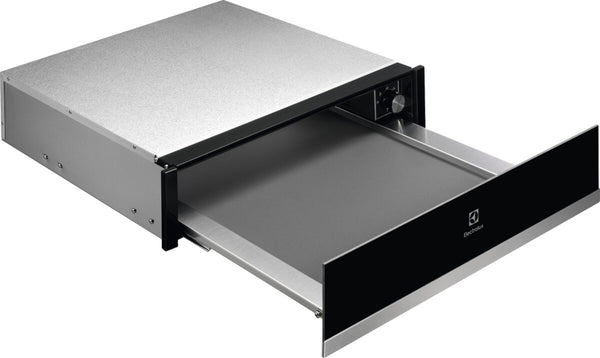 Electrolux KBD4X- 14cm Built-In Black Stainless steel front Warming Drawer