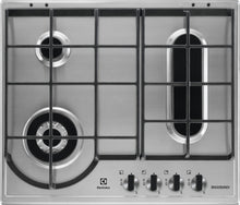 Load image into Gallery viewer, Electrolux EGH6349BOX- 60cm Bridge Burner Gas Kitchen Hob