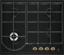 Load image into Gallery viewer, Electrolux EGH6343ROR- 60cm Stainless steel Gas Kitchen Hob