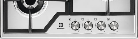 Electrolux KGS6436BX- 60cm Stainless steel Gas Kitchen Hob