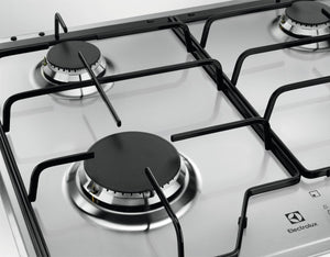 Electrolux KGS6424BX- 60cm Stainless steel Gas Kitchen Hob- SPEED burner