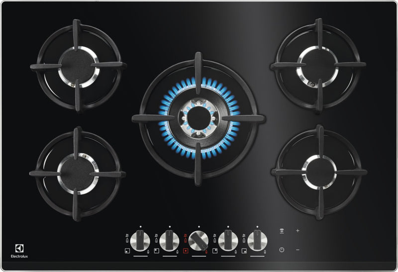 Electrolux KGG7538K- 70cm Gas Kitchen Hob Ceramic glass