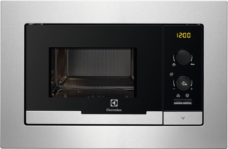 Electrolux EMS20107OX- Built-In Stainless steel Microwave 20L ,800W