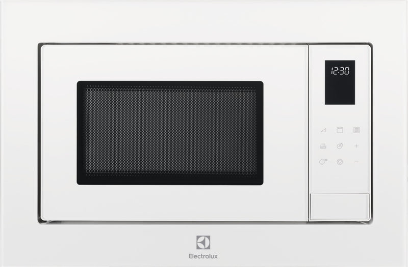 ELECTROLUX LMS4253TMW - Built In White Stainless steel Microwave with Grill 25L, 900W