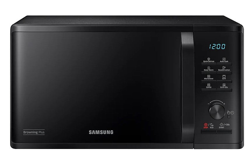 Samsung MG23K3515AK- Freestanding microwave with grill 800W, 23L, 6 power levels