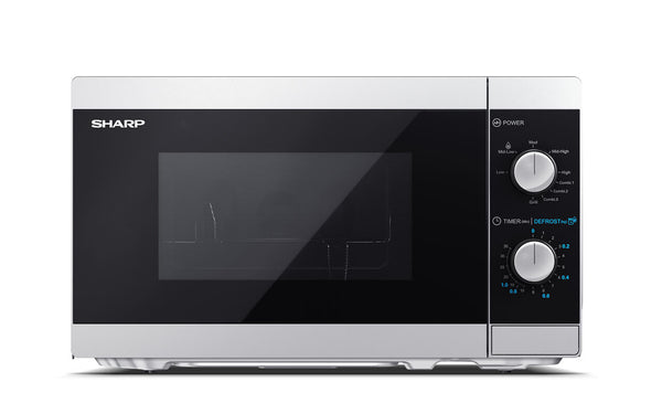 SHARP YC-MG01E-S- Freestanding Microwave with Grill 800W, 20L, 5 power levels