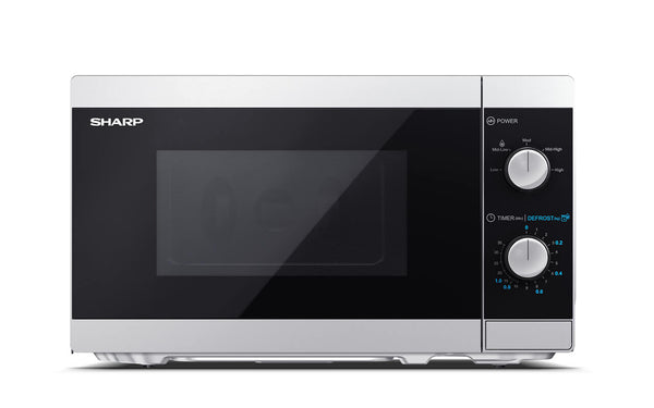 SHARP YC-MS01E-S- Freestanding Microwave 800W, 20L, 5 power levels