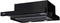 BEKO CTB 6250 B Semi Built-In Telescopic Black Cooker Hood with black glass front