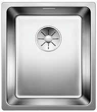 Load image into Gallery viewer, Blanco Andano 340-IF 522954 Stainless Steel + automatic strainer In Set Kitchen Sink