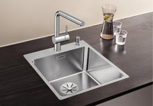 Load image into Gallery viewer, Blanco Andano 400-IF/A Stainless Steel In Set Kitchen Sink InFino Drain