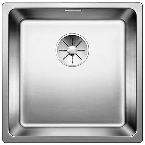 Blanco Andano 400-IF - 522958 Stainless Steel In Set/Flushmount Kitchen Sink with InFino remote controlled drain system