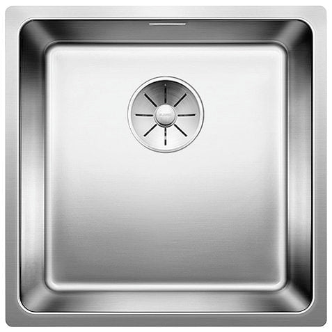 Blanco Andano 400-U - 522959 Stainless Steel Undermount Kitchen Sink with InFino Drain system