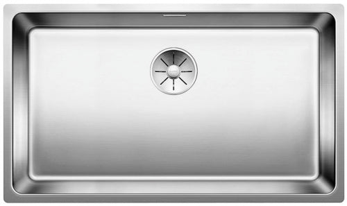 Blanco Andano 700-U - 522972 Stainless Steel Undermount Kitchen Sink with InFino remote controlled drain system