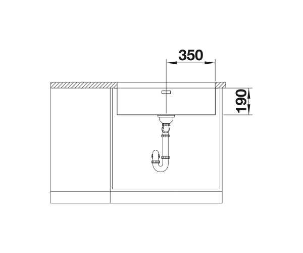 Blanco Andano 700-U Stainless Steel Undermount Kitchen Sink
