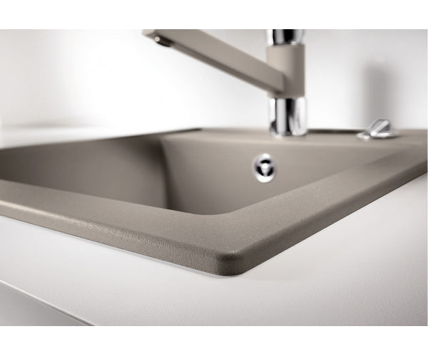 Blanco Dalago 45- SILGRANIT In-Set kitchen sink- 10 colours, remote controlled strainer