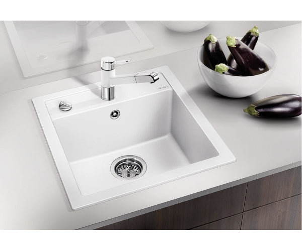 Blanco Dalago 45 InFino Drain SILGRANIT® PuraDur® In Set kitchen sink 10 colours