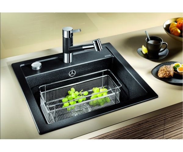 Blanco Dalago 5- SILGRANIT In-Set kitchen sink- 10 colours, remote controlled strainer