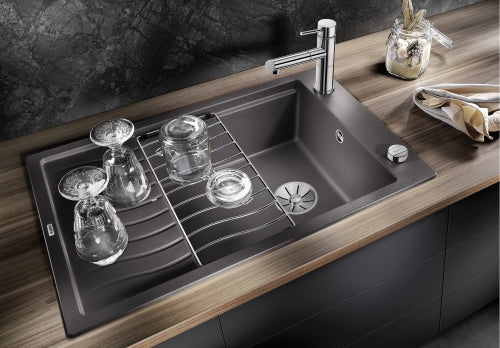 BLANCO ELON XL 6 S- 524835 Silgranit Stone grey Kitchen Sink- Inset