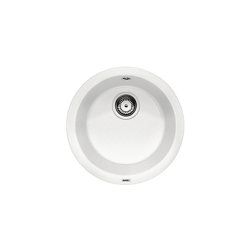 BLANCO RONDO- 511621 Silgranit White Round Kitchen Sink- Inset