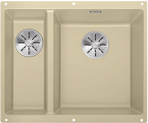 BLANCO SUBLINE 340/160-U InFino Undermount Kitchen Sink in SILGRANIT® PuraDur® 10 colours