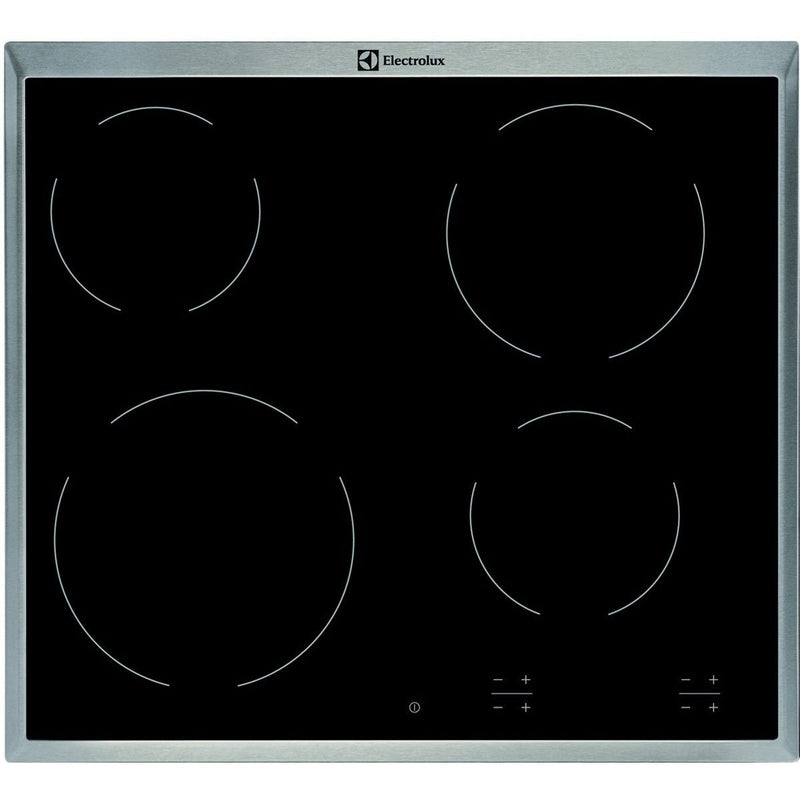 ELECTROLUX EHF16240XK- Built-in Black Glass Kitchen Electric Hob