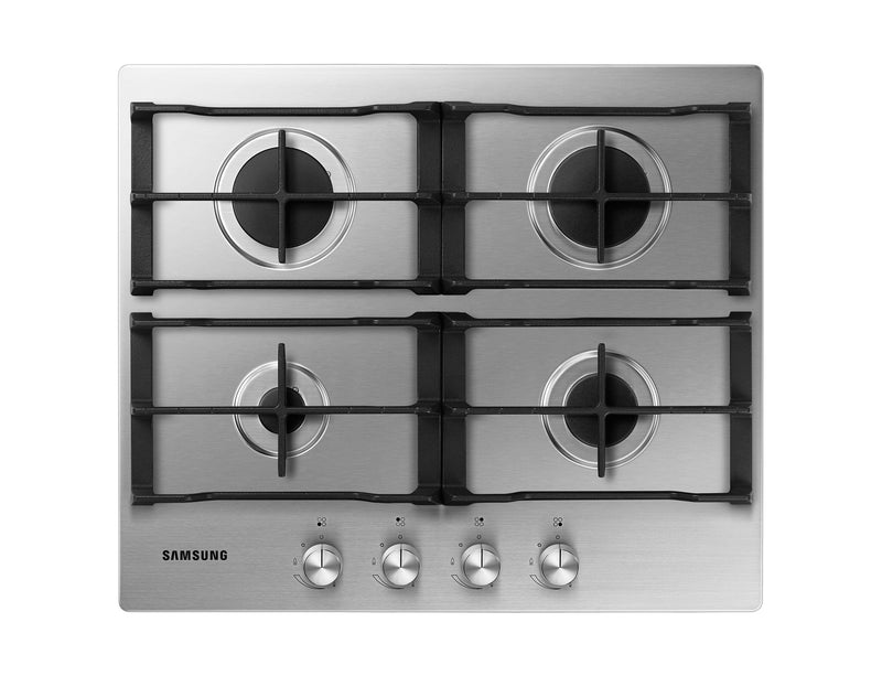 SAMSUNG NA64H3010AS- 60cm Stainless steel Gas Kitchen Hob