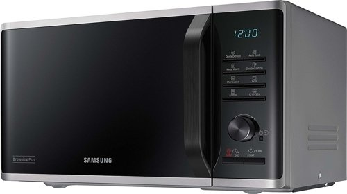 Samsung MG23K3515AS- Freestanding microwave with grill 800W, 23L, 6 power levels