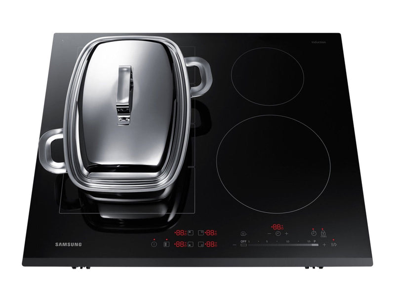 SAMSUNG NZ64K7757BK/EO- 60cm Induction Kitchen Hob Black Ceramic Flex Zone