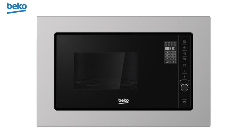 BEKO MOB20231BG- Built-In or Free Standing Stainless steel Microwave 20L