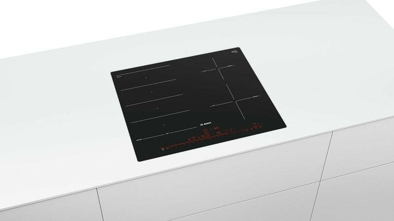 BOSCH PXE601DC1E 60cm Flush fitting design Induction Kitchen Hob