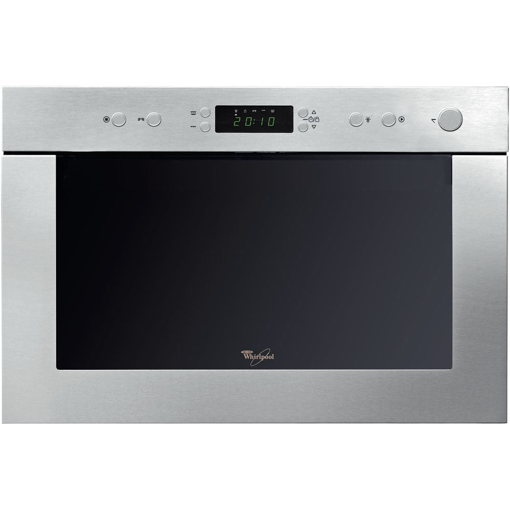 WHIRLPOOL AMW 497/IX Built-In Stainless steel Microwave + Grill 22L, 750W