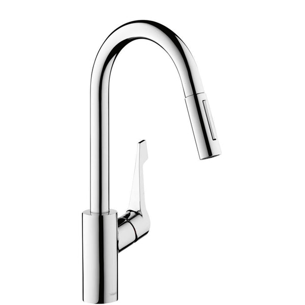 Hansgrohe Cento XL Pull-Out Spray Chrome  Kitchen Tap Single Lever