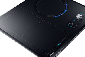 Samsung NZ63J9770EK- Chef Collection Virtual Flame  Induction Hob Black Glass