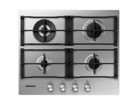 SAMSUNG NA64H3030AS- 60cm Stainless steel Gas Kitchen Hob Triple Crown burner