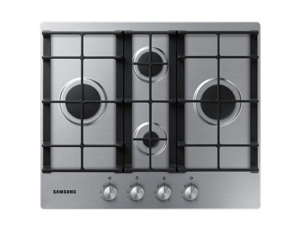 SAMSUNG NA64H3010BS- 60cm Stainless steel Gas Kitchen Hob